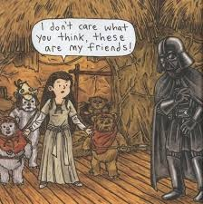 Vader's Little Princess Oh I hope I have granddaughters one day!