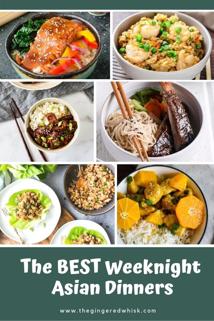 Easy Asian Weeknight Meals Roundup Easy Asian Recipes Asian