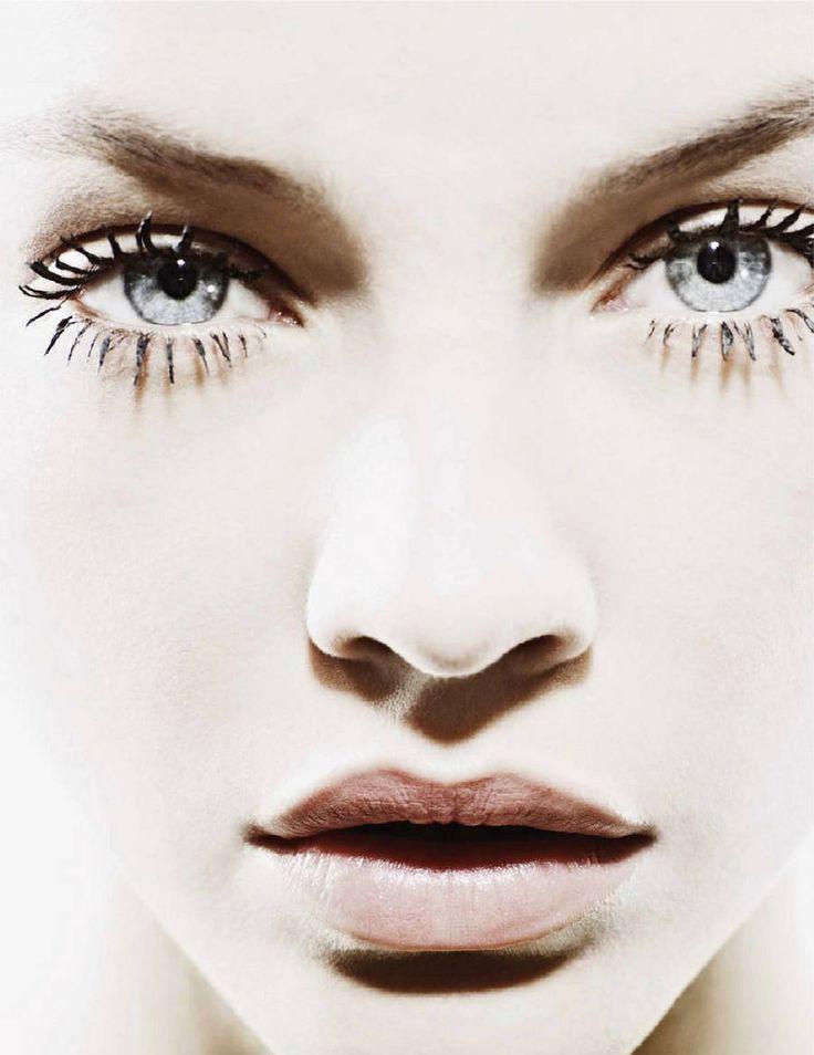 lashes: Partial France, Jan Welter, Eye Colors, Makeup, Blue Eye, Barbara Palvis, Fashion Photography, Barbarapalvin, Big Eye