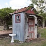 for those of you who find outhouses charming, consider the hand sink...