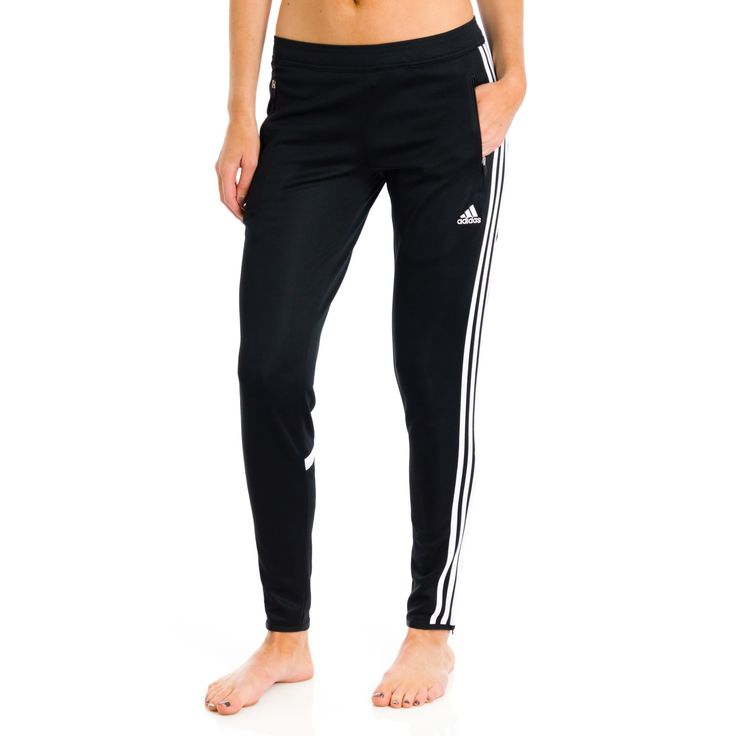 adidas Women\u0027s Condivo 14 Training Pants (Black/White) | yaasss