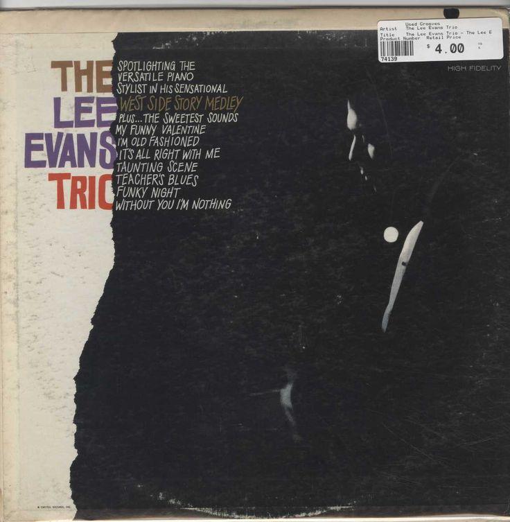 The Lee Evans Trio - The Lee Evans Trio
