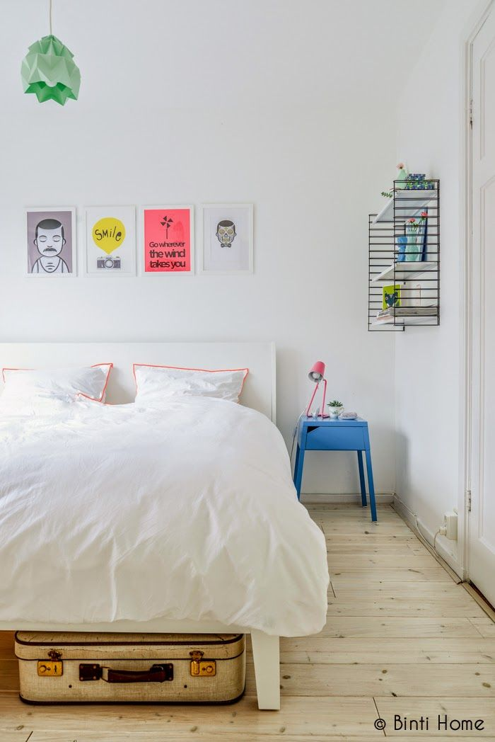 my scandinavian home: Going Dutch with white and splashes of colour
