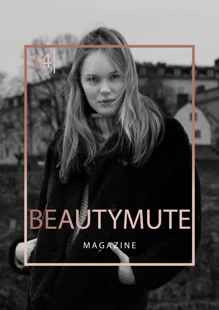 Cecilia Neuman auf dem Cover vom BeautyMute Magazine fotografiert von Christoph Marti