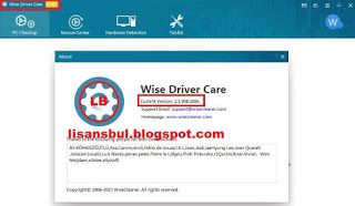 Wise Driver Care Pro 2.1 Key Serial    Wise Driver Care Pro 2.1 full key, serial, lisans kodu, lisans anahtarı     Huge driver database su...