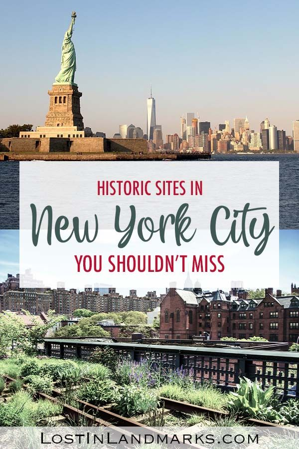 10 of the best historical sites in New York City