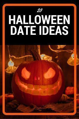 Perfect list of 20 Halloween Date Ideas including scary date ideas, creepy date ideas, and fun date ideas for those who scare easily. This makes the Halloween season so much fun with these creative fall date ideas!