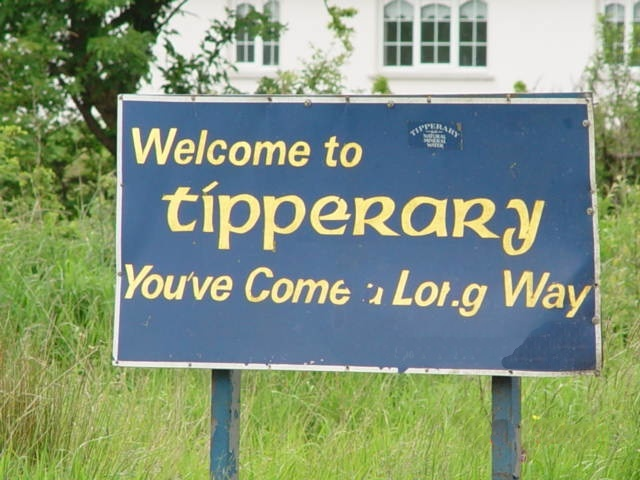 Long way to Tipperary Ireland (When you go you must have a picture of the sign!)