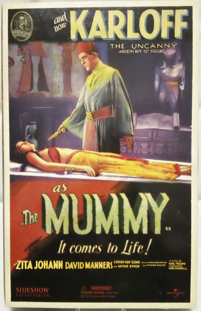 "The Mummy The Uncanny Ardith Bey 12"" Action Figure Sideshow 2004 