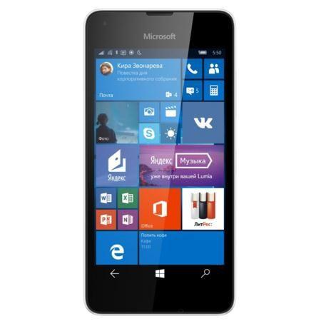 Microsoft Lumia 550 4G 8Gb White  — 5985 руб. —  Благодаря Windows 10 на Lumia 550 вы получите доступ к великолепным сервисам и приложениям Microsoft, уже знакомым вам по их версиям для компьютера. Благодаря OneDrive вы сможете бесплатно и безопасно хранить документы в облаке и беспрепятственно получать доступ к ним с возможностью редактирования на своем телефоне.Lumia 550 создан для сетей 4G (LTE), поэтому вы сможете передавать данные с ошеломительной скоростью и, как результат, решать…