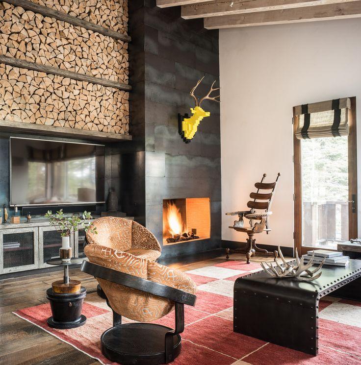 Камин в интерьере: 140 избранных идей для гостиной и тонкости каминного искусства http://happymodern.ru/kamin-v-interere-140-foto-gostinaya-s-kaminom/ Домашний камин всегда трактовался, как важный декоративный элемент жилища