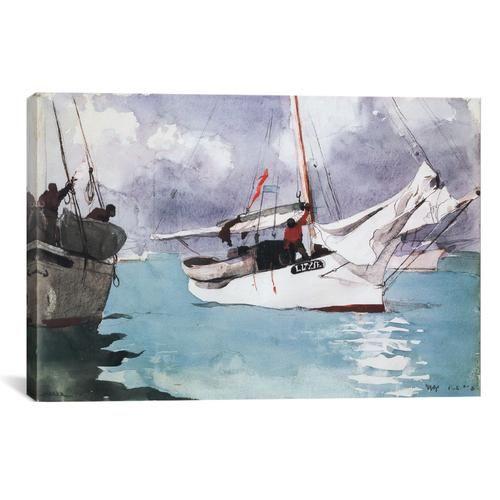 Fishing Boats, Key West 1903