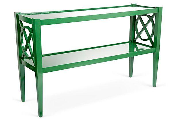 Funky Foyer Furniture : Alistair console emerald on onekingslane hmmm a