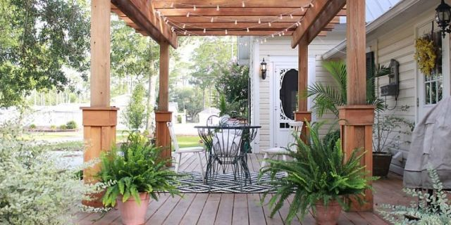 A Rotting Porch Turns Into an Outdoor Retreat  - HouseBeautiful.com