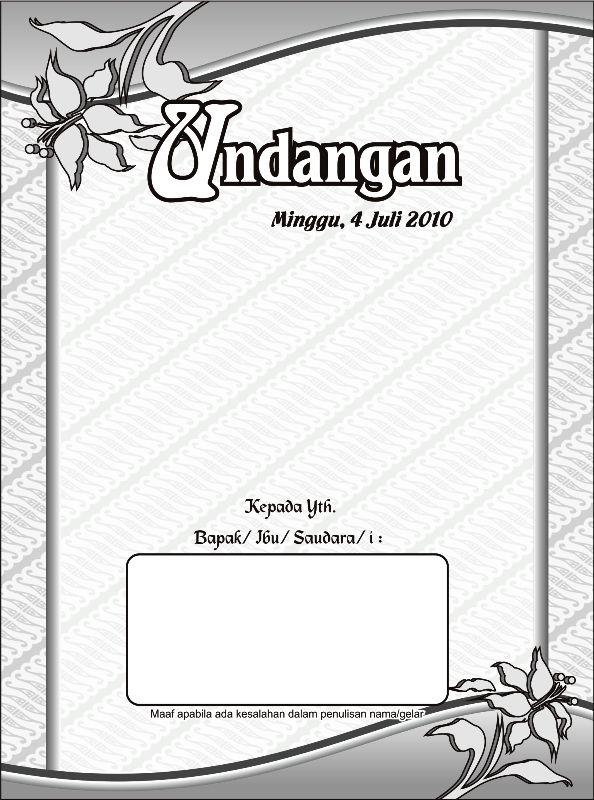 Download Desain Undangan Pernikahan Format Vector Corel Draw Gratis undangan-pernikahan-1 motif batik