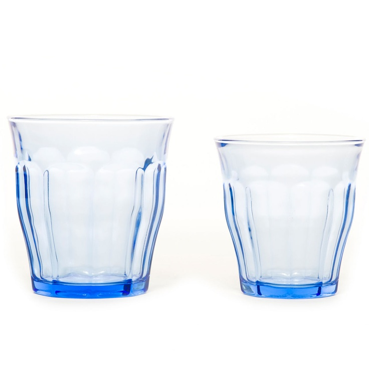 Duralex Marine glass - pedlars: Marine Glasses, Primary School, Mothers Day Gifts, Beautiful Blue, Marines Blue, Duralex Marines, Blue Glasses, Marines Glasses, Duralex Glasses