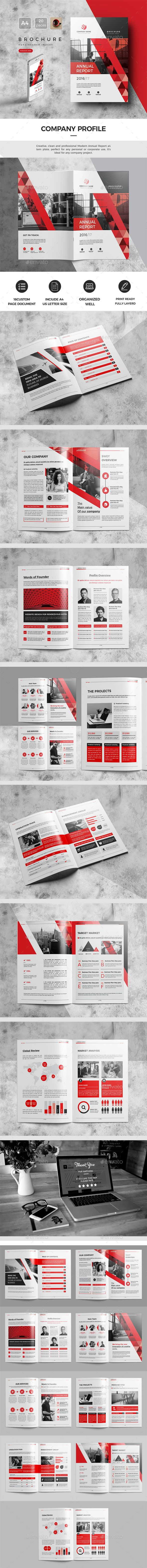 Company Profile Design Template 2017 - Catalogs Brochures Design Template InDesign INDD. Download here: https://graphicriver.net/item/company-profile-2017/19445995?ref=yinkira