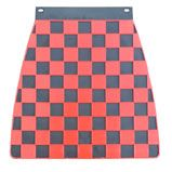 Red & Black Check Mudflap | SCREEN PRINTED IN UK | £14.95 |  *** OUT OF STOCK ***