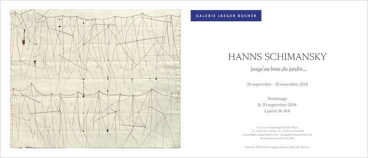 Après une pause estivale, la Galerie réouvrira au public le 20 septembre avec une nouvelle exposition consacrée au travail de l'artiste allemand Hanns Schimansky ! #dessin http://urlz.fr/Ccw