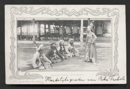 Wayang Orang Jogjakarta Java Indonesia 1899