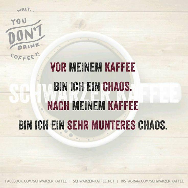 Vor meinem Kaffee bin ich ein Chaos. Nach meinem Kaffee bin ich ein sehr munteres Chaos. Facebook Twitter Google+ Pinterest Tumblr Email WhatsAppSchreibe etwas dazu Kommentare