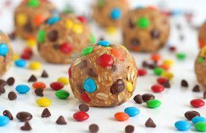 No-Bake Monster Cookie Balls | The BakerMama