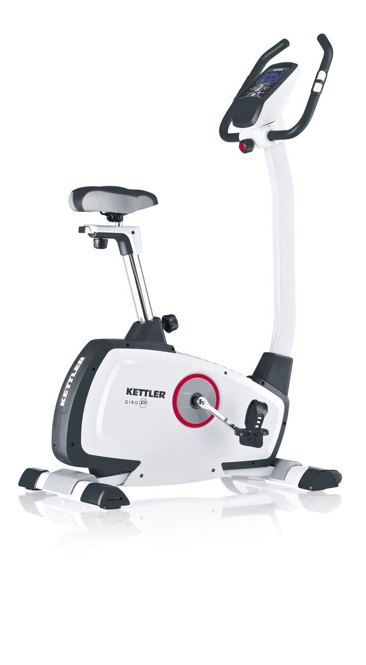 Bicicleta Estática Kettler Giro P. Monitor LCD retroilumindo, con 7 funciones en tiempo real, y 8 programas de entrenamiento  #bicicletaestatica