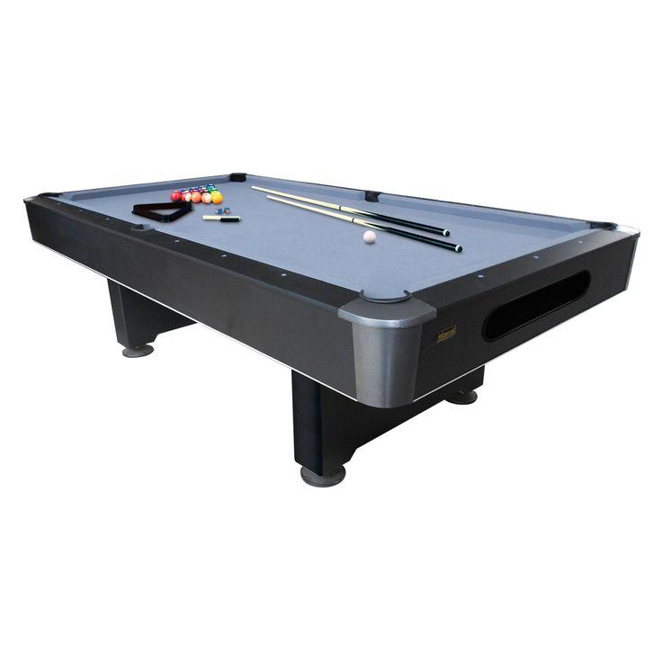 Mizerak Dakota 8 ft. Slatron Pool Table with Ball Return System - P5423W2