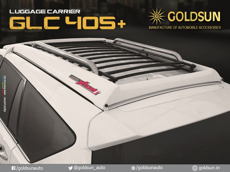We, Goldsun provide Automobile Accessories #front_nudge_guard, #rear_bumper, #side_steps & #luggage_carrier for Toyota Innova crysta & more #Indian #cars.   Product : Luggage Carrier Model : GLC 405+  For details, call: +91 93444 49111 Visit your nearest Automobile Accessory store or www.goldsun.in   #goldsun #automobile #accessories #crysta