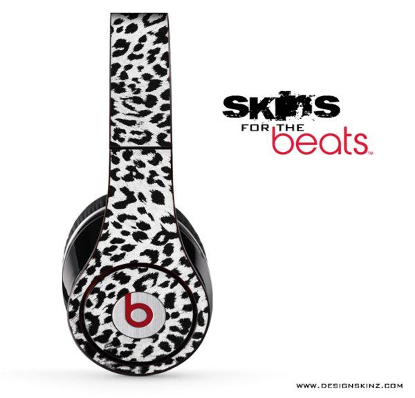 Leopard Print Skin for the Beats Pro, Studio or Solo by Dre