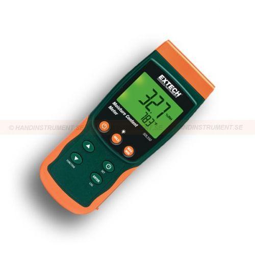 http://handinstrument.se/fuktmatare-r252/matare-for-fukt-i-porosa-material-och-spannmal-53-SDL550-r266  Mätare för fukt i porösa material och spannmål  Mäter fukt i spannmål, majs, ris, bomull, papper och andra porösa material  Givaren är 600mm lång och i rostfritt stål med utbytbar spets med inre filter  Mäter: Fukthalt, lufttemperatur, daggpunkt och temperatur i materialet  Mäter fukthalten från 10 till 95% i materialet  Datalogger datum / tid och avläsningar på ett SD-kort...