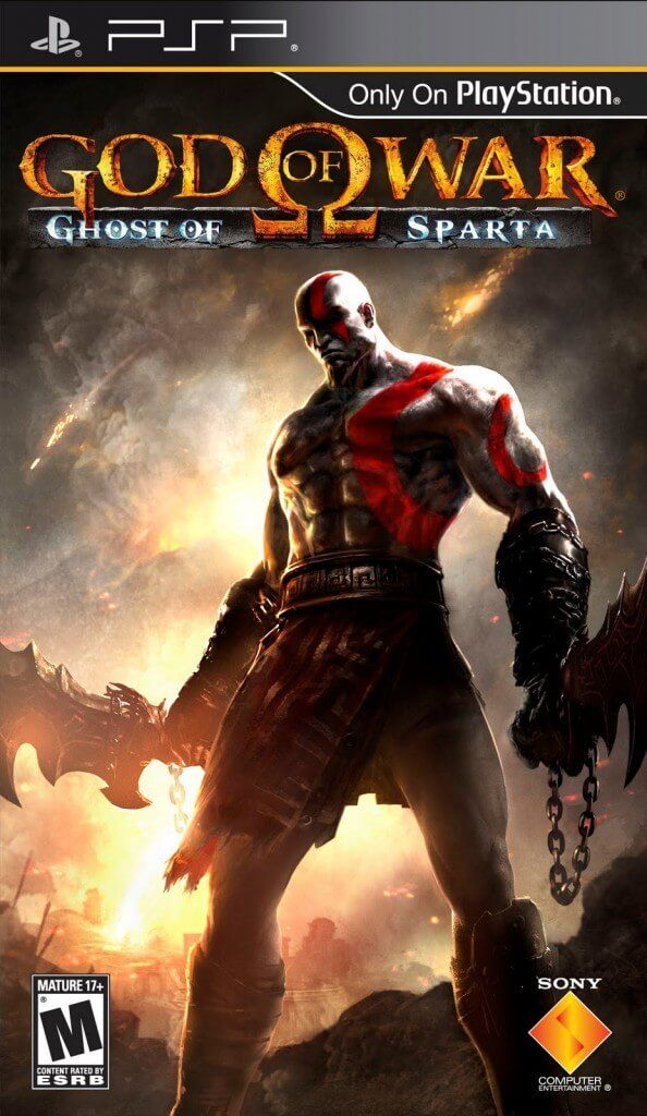 God Of War Ghost Of Sparta Eur Multi5 Español Full Psp Game Pc Rip Juegos De Psp Kratos God Of War Videojuegos Clásicos