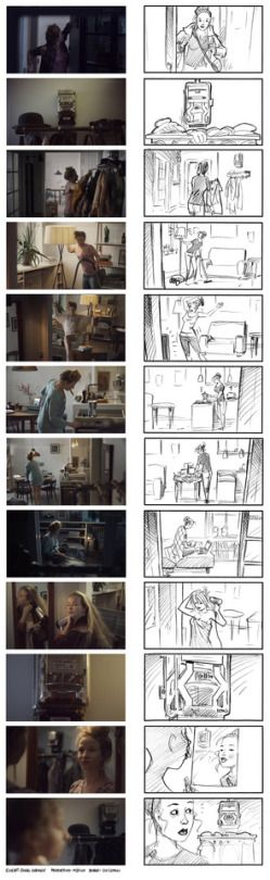 Storyboard vs actual film. Client: DONG Energy. Production: M2Film. Director: Mats Stenberg