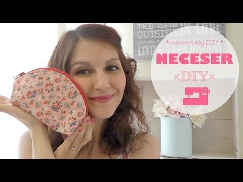 nairamkitty DIY: COMO HACER UN NECESER EN CURVA: VIDEO TUTORIAL DE COSTURA
