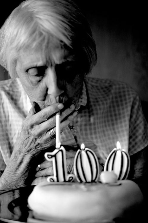 me in 60 years time... with a fag...