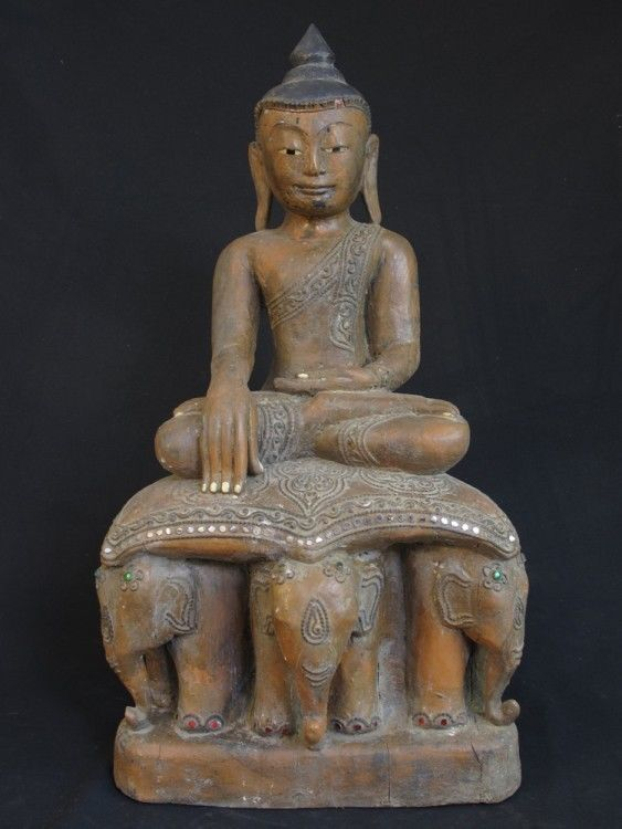 Antique Burmese Buddha Statue for Sale | Antique Buddha Statues #Burma