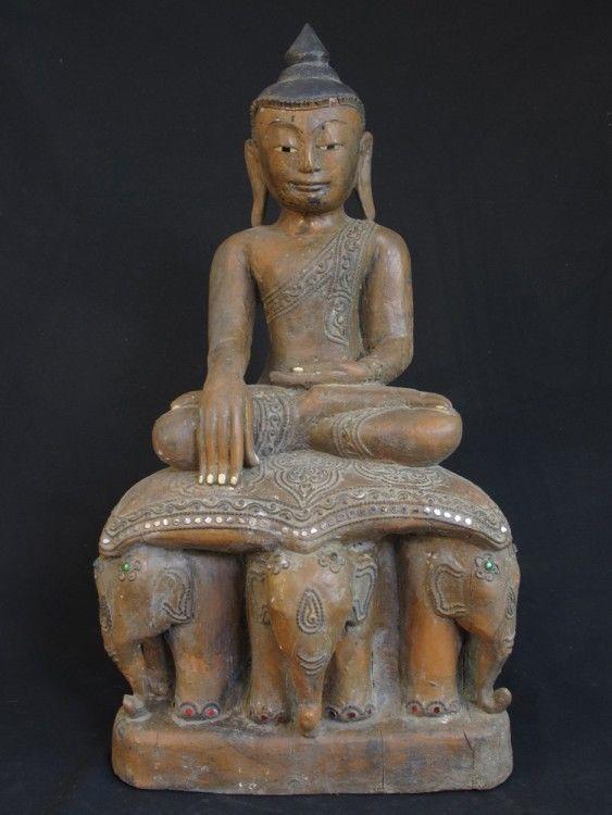 Antique Burmese Buddha Statue for Sale | Antique Buddha Statues #Burma