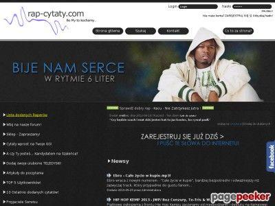Cytaty z piosenek, hip hop! - Katalog Stron - Najmocniejszy Polski Seo Katalog - Netbe http://www.netbe.pl/kultura,i,sztuka/cytaty,z,piosenek,hip,hop!,s,518/ #muzyka
