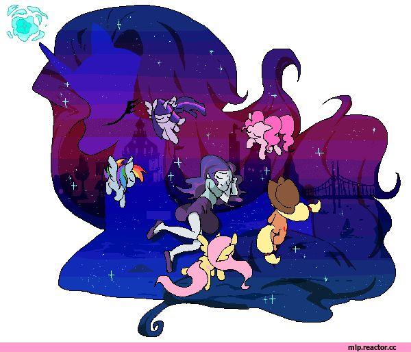 mlp gif,my little pony,Мой маленький пони,фэндомы,Nightmare Rarity,minor,Rarity,Рэрити,mane 6,Rainbow Dash,Рэйнбоу Дэш,Twilight Sparkle,Твайлайт Спаркл,Fluttershy,Флаттершай,Applejack,Эпплджек,Pinkie Pie,Пинки Пай,mlp sad,Equestria girls