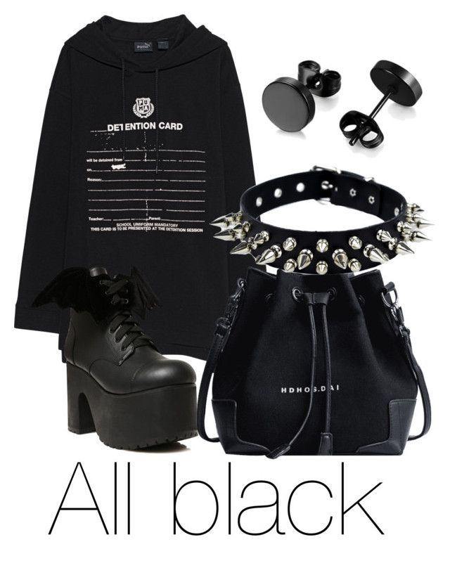 """""""Untitled #58"""" by alicesandberg ❤ liked on Polyvore featuring Puma and Current Mood"""