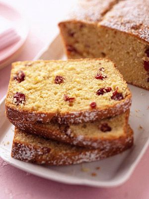 Cranberry-Sour Cream Pound Cake | Recipe | Pound Cakes ...
