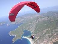 Paragliding in Ölü Deniz