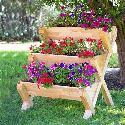 CedarCraft CC_CASC Cascading Garden Planter