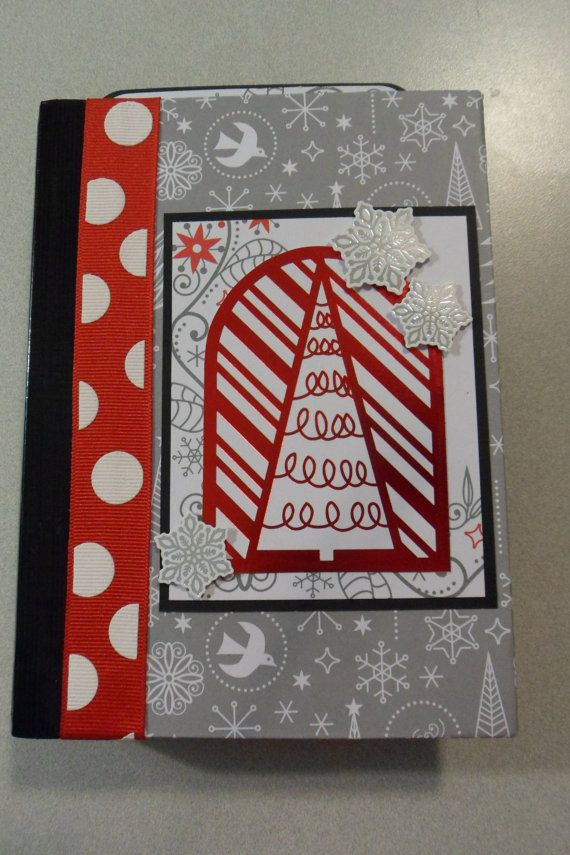 Check out this item in my Etsy shop https://www.etsy.com/listing/496904729/red-and-white-noel-christmas-mini-album