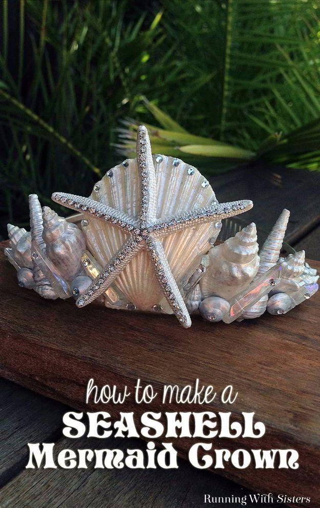 38 Brilliant DIY Meerjungfrau Handwerk