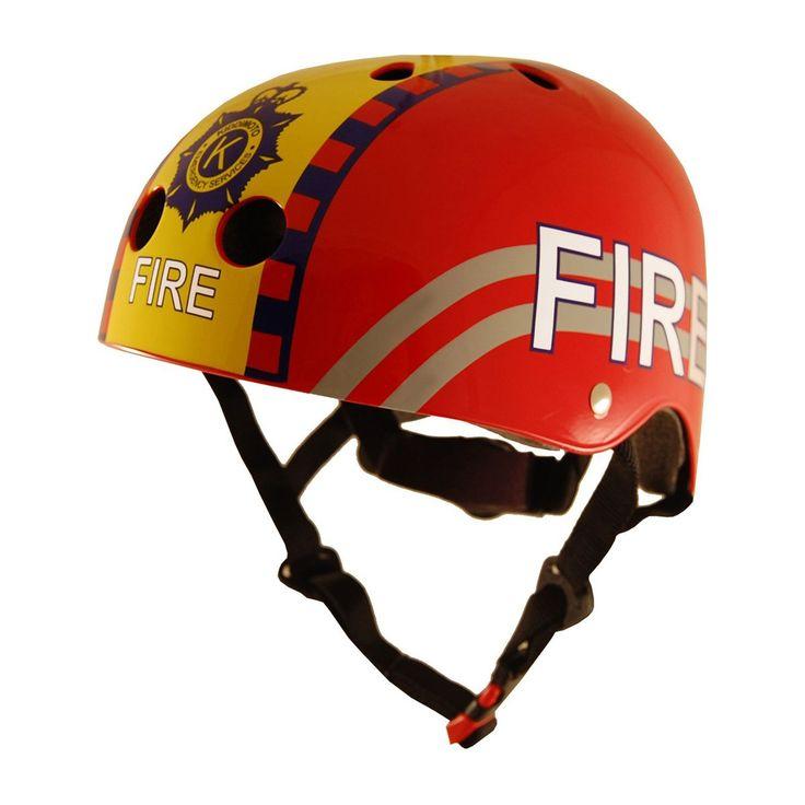 Kiddimoto Helmets - Kiddimoto Kids Helmet - Fire