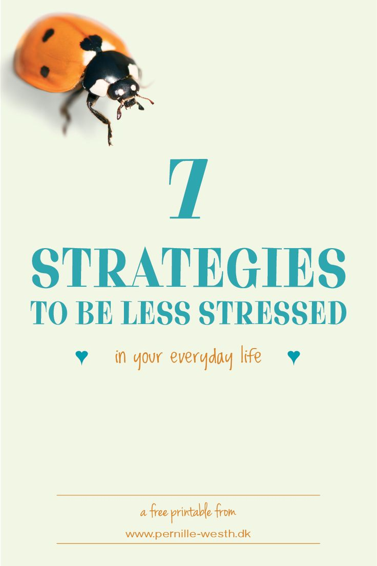 Get my 7 FREE strategies to be less stressed. They are easy to implement in your everyday life.