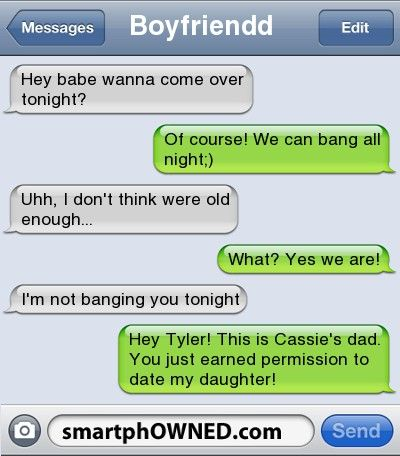 The Web Babbler: Funny Texts #10