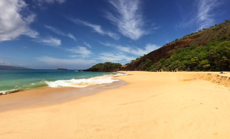 This beach was my first Hawaii beach experience and it changed my life forever. Makena's Big Beach.
