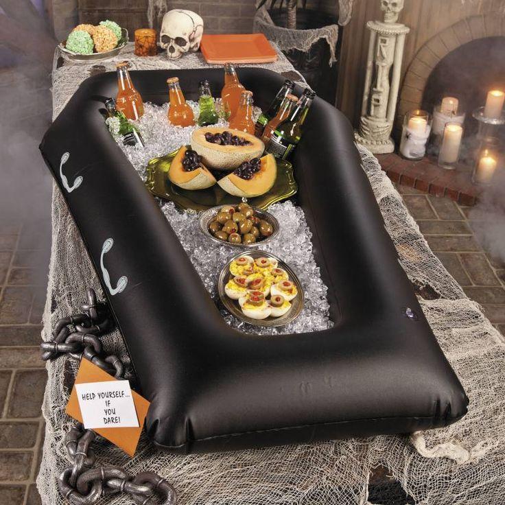 Die besten 25 halloween sarg ideen auf pinterest leicht - Tischdekoration halloween ...